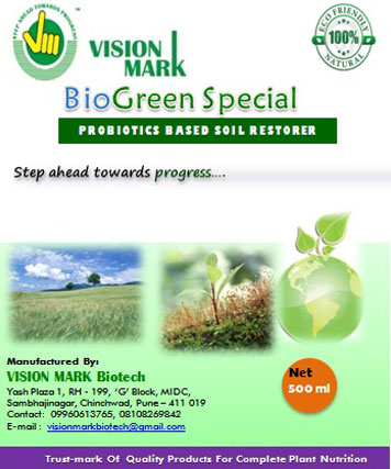 Probiotics Based Soil Restorer