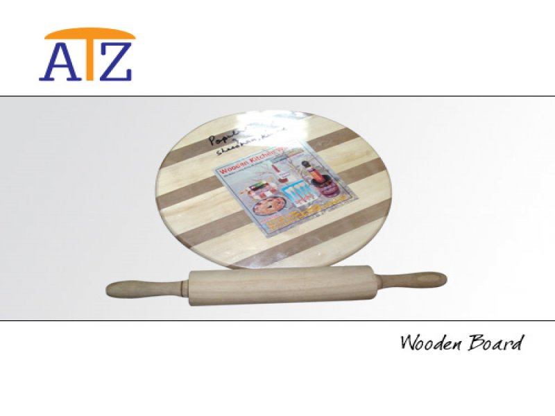Wooden Board and Rolling Pin