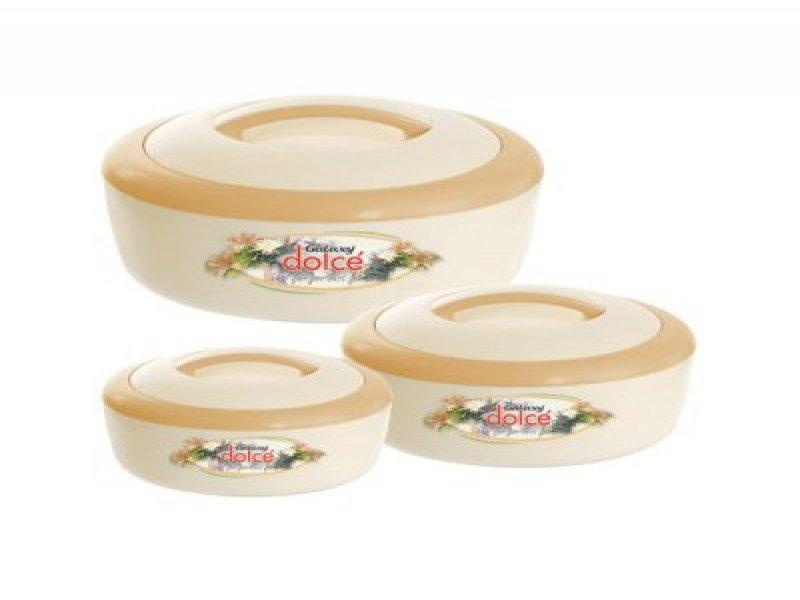 Dolce Plastic Hot Pot Set