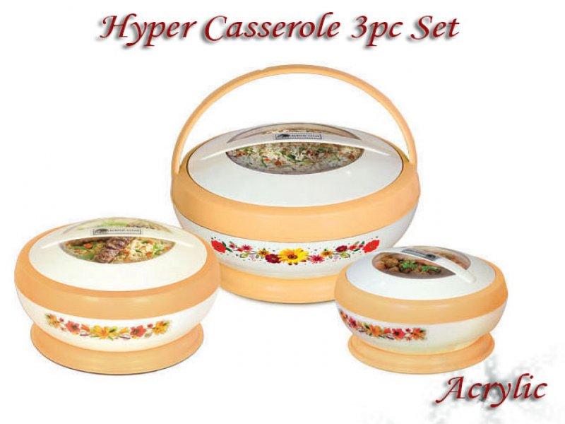 Hyper Acrylic Hot Pot Set