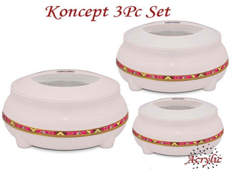 Koncept Acrylic Hot Pot Set