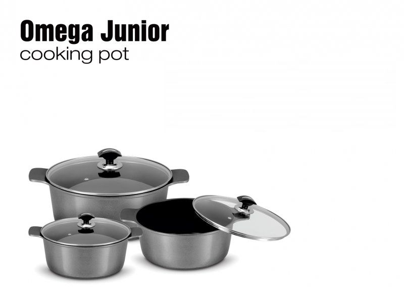 Omega Junior Cooking Pot Set