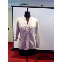 Ladies Cotton Full Sleeve Shirts