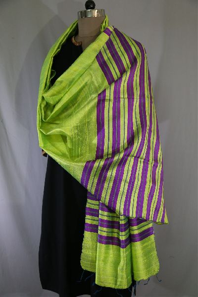 Dupion Silk Multi Color Dupattas 02
