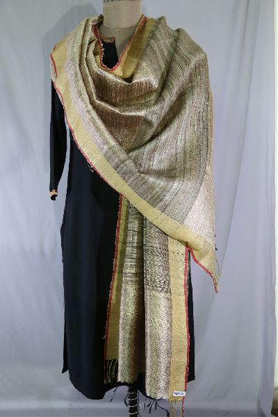 Dupion Silk Multi Color Dupattas 13