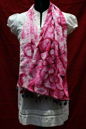 Hand Painted Stole 02