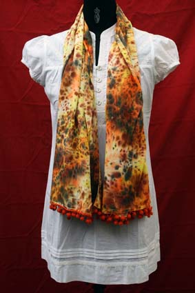 Hand Painted Stole 05