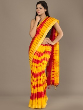 Moonga Silk Saree 01