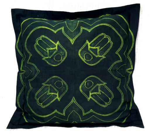 Shibori Cotton Cushion Cover 05