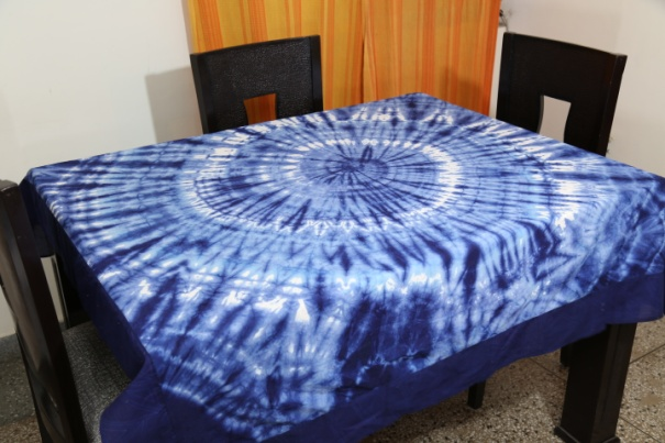 Shibori Cotton Tablecloth 02