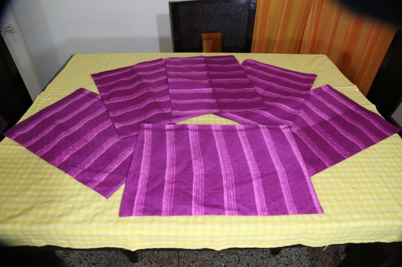 Shibori Cotton Tablecloth 04
