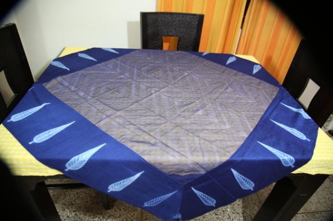 Shibori Cotton Tablecloth 06