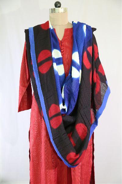 Shibori Woolen Shawls 03