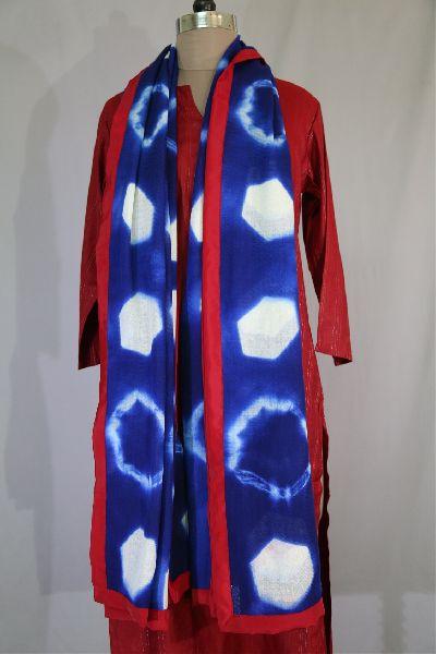 Shibori Woolen Shawls 08