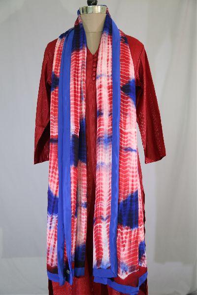 Shibori Woolen Shawls 09