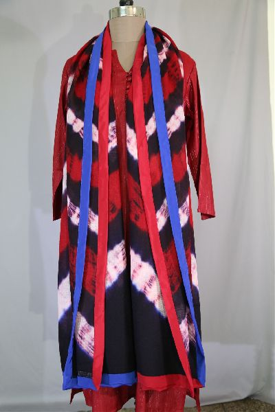 Shibori Woolen Shawls 10