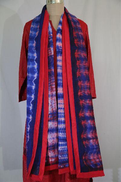 Shibori Woolen Shawls 11