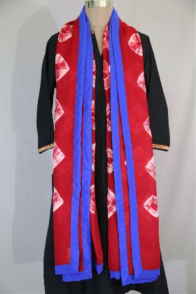 Shibori Woolen Shawls 12