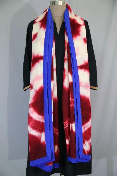 Shibori Woolen Shawls 14
