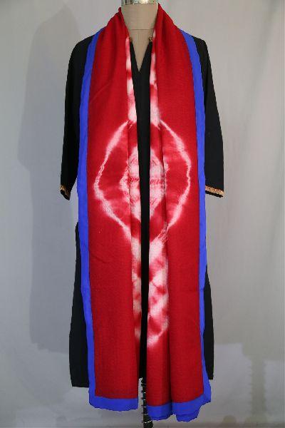 Shibori Woolen Shawls 16