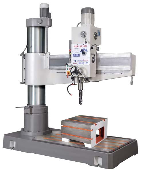 Heavy Duty All Geared Radial Drilling Machine (Model: SER-60/1700)