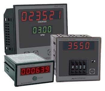 Multispan Counter Controller