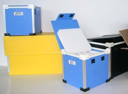 Plastic Corrugated Bins & Crate