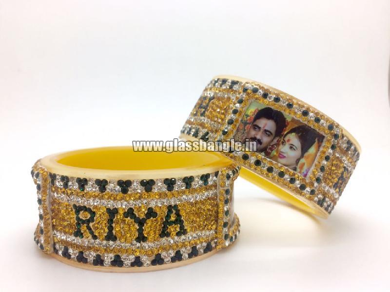 Couple Name Bangle 03