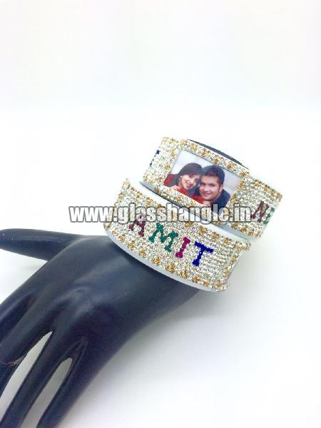 Couple Name Bangle 08