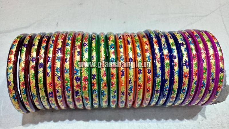 Plain Glass Bangle 04