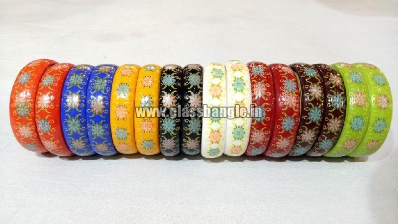 Plain Glass Bangle 18