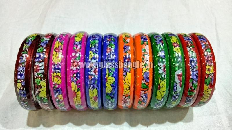 Plain Glass Bangles