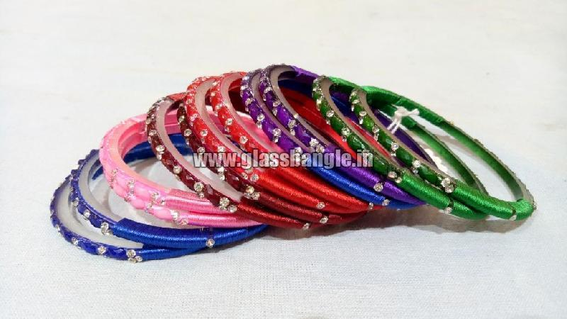 Silk Thread Bangle 05