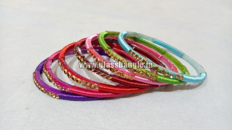 Silk Thread Bangle 06