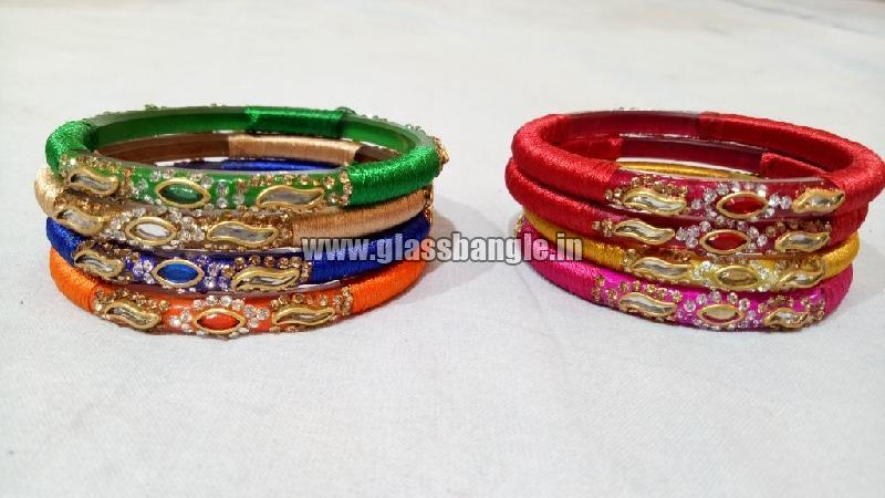 Silk Thread Bangle 10