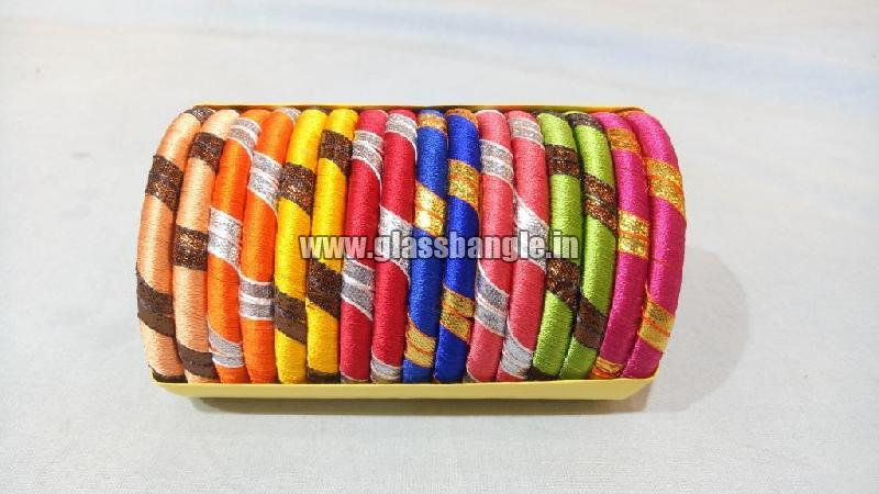 Silk Thread Bangle 13