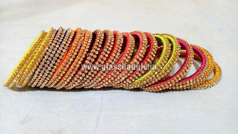 Silk Thread Bangle 14
