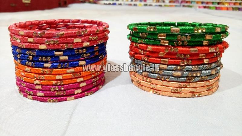 Silk Thread Bangle 15