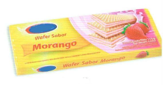 Morango Wafers