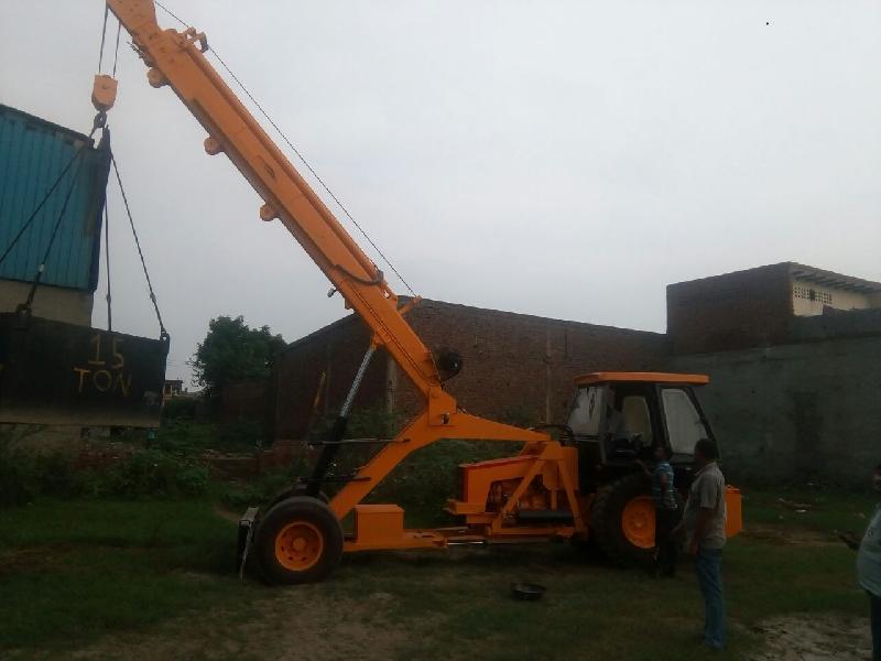 15 Ton Hydraulic Mobile Truck Crane 01