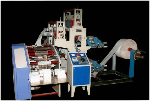 Automatic Multi Size Paper Napkin Making Machine