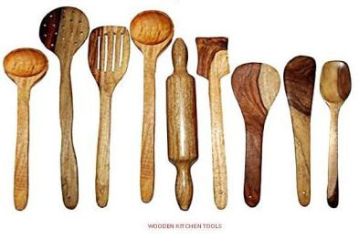 Wooden Kitchen Tools
