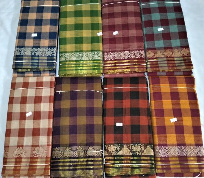 Chettinadu Cotton Sarees 12