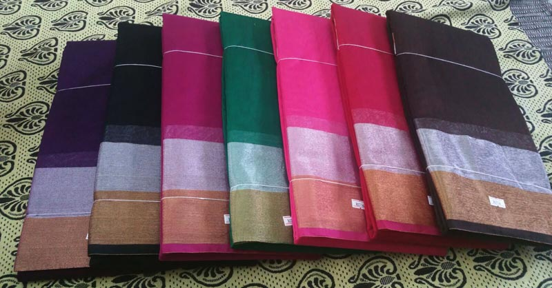 Plain Cotton Sarees