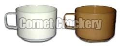 Acrylic Coffee Cup Saucer