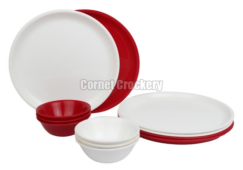 Acrylic Plate u0026 Bowl Set  sc 1 st  Cornet Crockery & Acrylic CrockeryAcrylic Dinner SetAcrylic Bowls Manufacturers ...