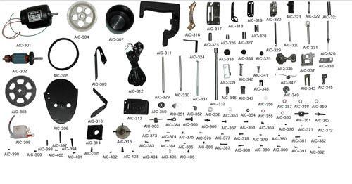 Tools and Spares of Bag Closer Machine
