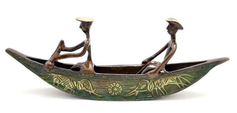 Brass Kerela Boat