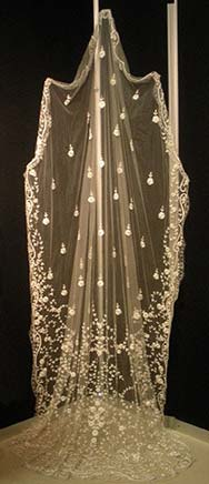 Hand Embroidery Bridal Veil