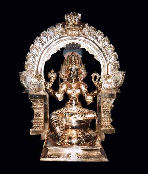 Mariamman Brass Statue